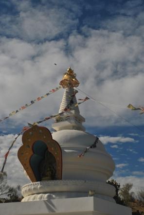 Stupa at Karma Guen