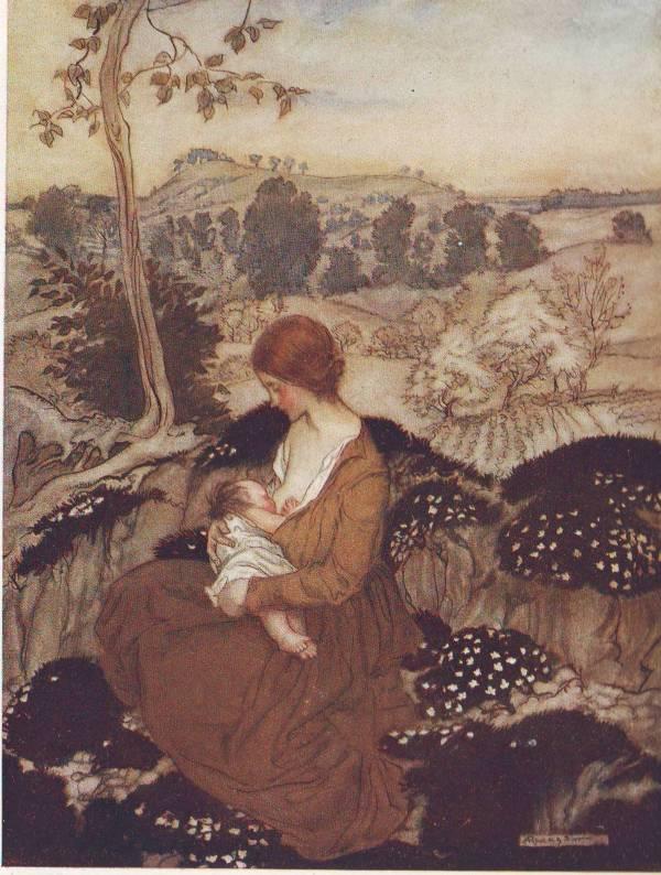 The springtide of life poems of childhood by Algernon Charles Swinburne illustrated by Arthur Rackham.