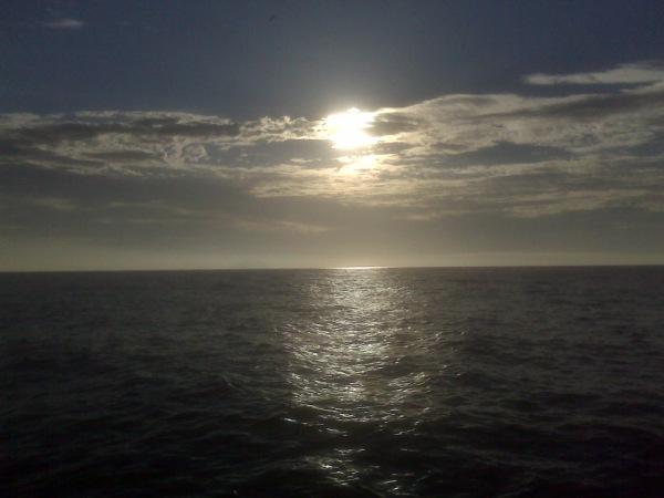 Sun Rise at Leme Beach, Rio.