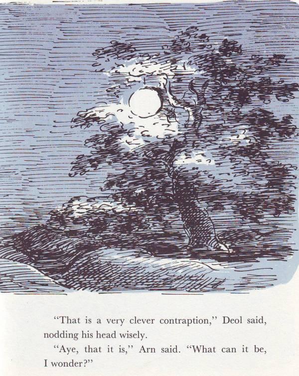 how the moon began