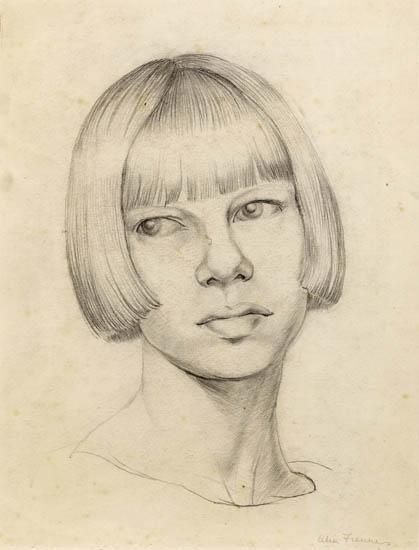 Self-portrait Celia Fiennes