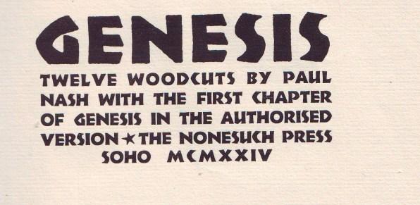 nonesuch press