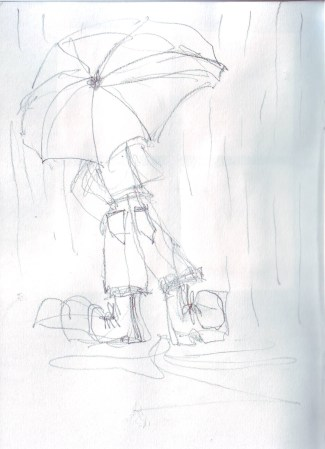 Umbrella sketch