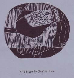 Still water by Geoffrey Wales October 1987