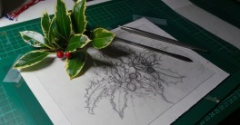 drawing with dry point tools