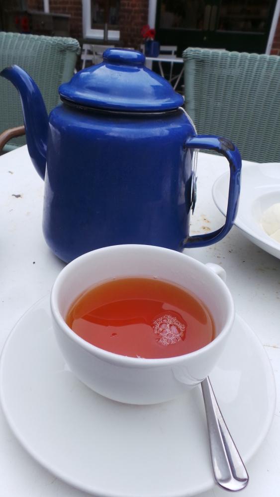 Black tea with a bag!