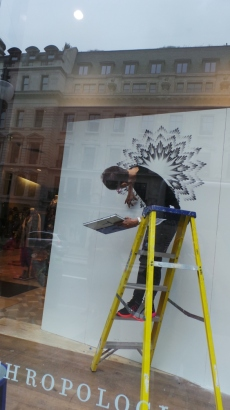 An Artist in Regents Street